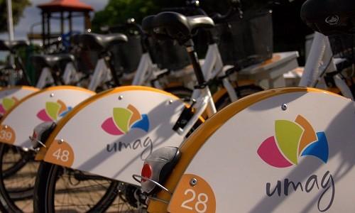 Umag in najem mestnega kolesa